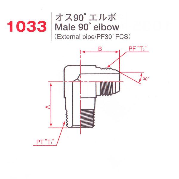 画像1: 1033(異径)  BS:8021 (1)