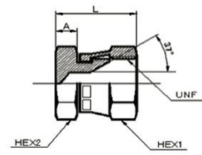 画像1: 1042UNF ユニファイネジ盲キャップ 各サイズ  (1)