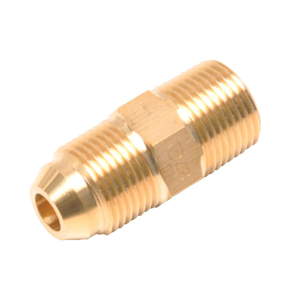画像1: 真鍮製ホース継手 3013 サイズ-04 -06 -08 -12 (1)