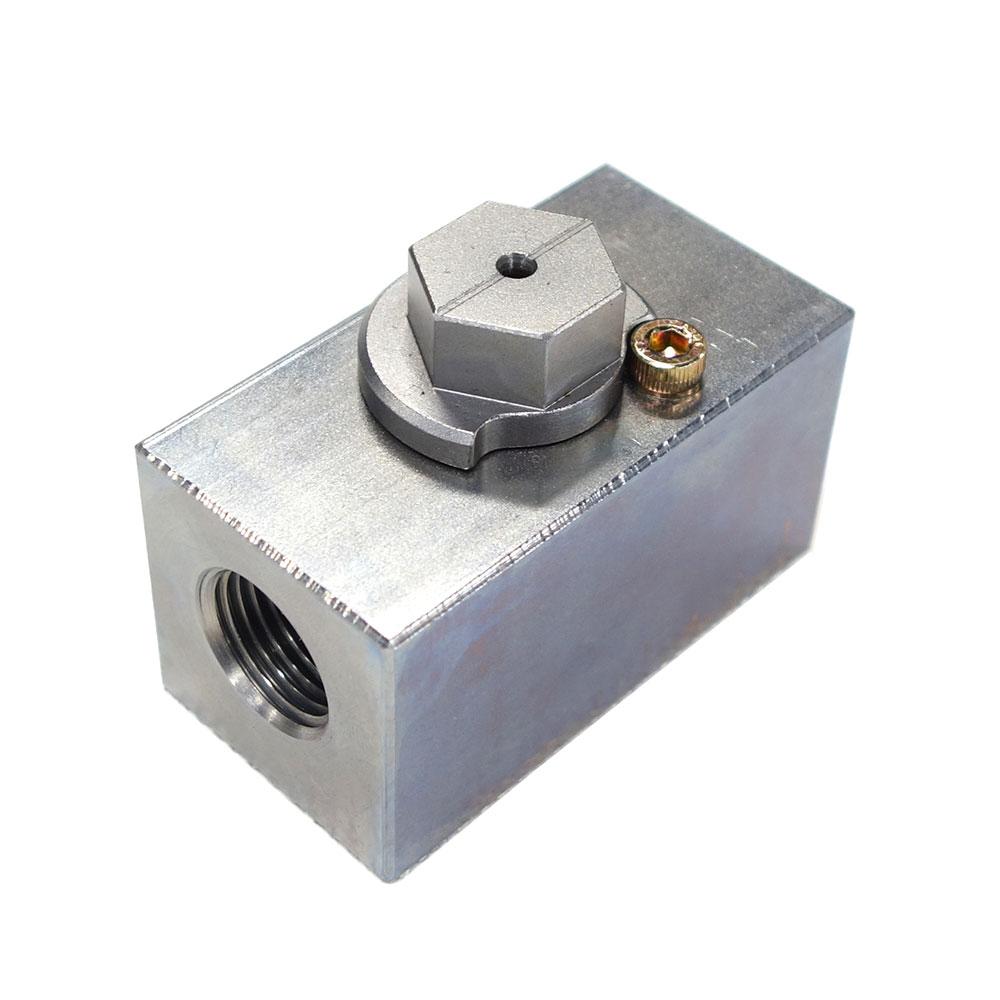 """画像1: 建設機械アタッチメントホース用ストップバルブ350k 1/2・3/4・1""""インチ (1)"""